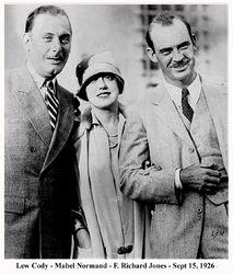 Lew Cody - Mabel Normand - Dick Jones