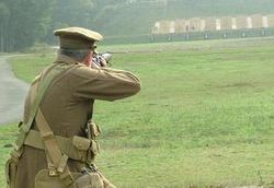 Lee-Enfield on the range