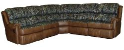 #4000 Sectional Palance Chestnut - New Conceal