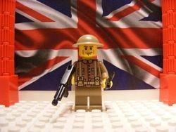 British Hampshire Regiment with M1A1