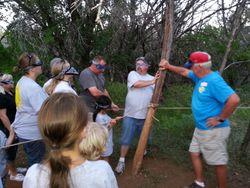 Low ropes challenge - exit