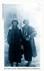 MABEL NORMAND & JULIA BENSON