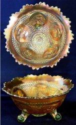 Horse Medallion ftd nut bowl,