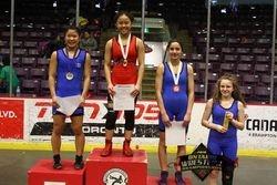 Jessica Hong - 1st place at Juvenile Provincials 2018