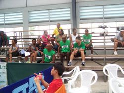 spectators at sunday games