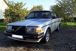 1980s Volvo saloon