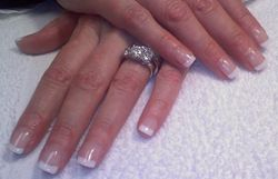 Gorgeous French Gel Nails!