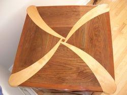 Walnut, Cherry, Birch Table - 2