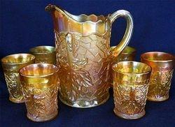 Maple Leaf water set, marigold