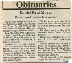 Moyer, Daniel Paul 1993