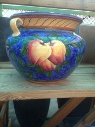Maceton Handpainted Pots
