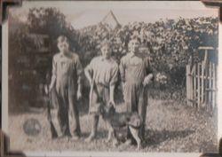 George, Edgar, and William Grove
