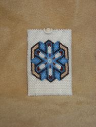 Beaded Debit Card Holder - lined with suede - $157.50 - SOLD