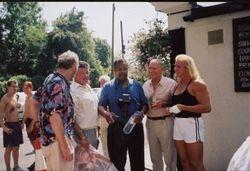 Pat Roach, Wayne bridges, Prince Kumali,Steve Veidor, Sarah Bridges