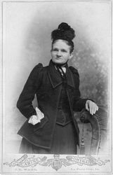 J. E. Ward, photographer of La Porte City, Iowa