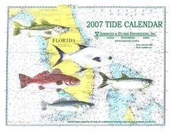 2007 Tide Calendar Cover