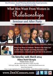 Relationship Coaching Seminar London