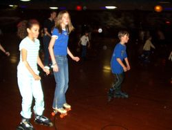Jennifer skating