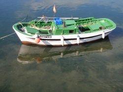 Fishing boat in Camarinas