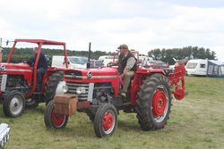 Massey Ferguson 175 and plough