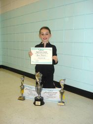 Grace, our division winner
