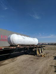a 33,000 lbs exchanger ready to take the road