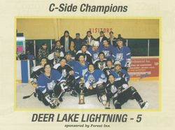 Deer lake Lightning - C Side Champs