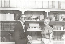 Rev. and Mrs. Hill-Cambridge UMC