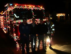 The Crew that decorated the Engine