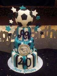 Soccer Ball cake (SP008)