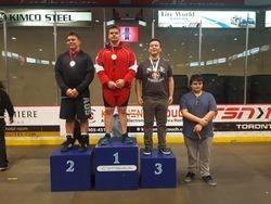 Cole McKee - 1st place at Cadet Provincials 2017