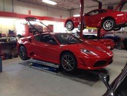 At Ferrari of Alberta to Inspect a F430 Scuderia for a customer
