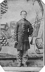 Russell Hubbard Mallory, Co. E IL 86th Infantry