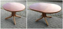 Vintazinis isskleidziamas stalas ant vienos kojos. Kaina 123