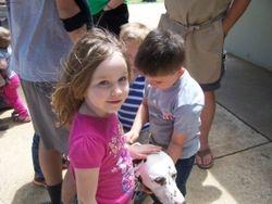 The kids love Herbie