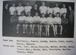 1938 Stan Musial HOF High School Yearbook Donora PA Varsity Dragon