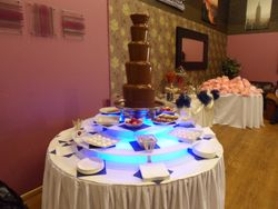 chocolate fountain hire manchester. sweet candy dreams