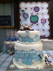 Olivia's Beautiful Cake