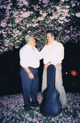 With Salvatore in Branford, CT, 2004