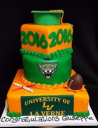 University of LaVerne Grad Cake