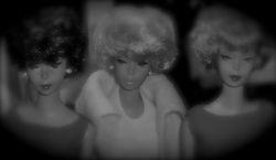 Girls looking askance!