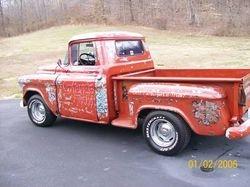 25. 55 Chevy Pickup