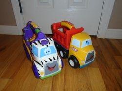 Little Tikes Handle Hauler Trucks-2 - $20