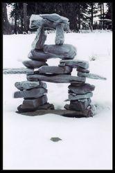 Winter Inukshuk