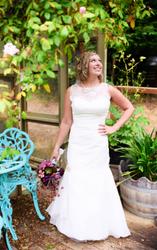 Wedding dress - After alteration