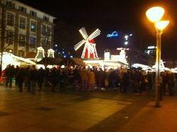 Marché de Noël, Duisburg - Allemagne