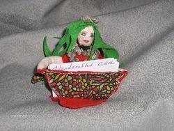 Mermaid business card holder