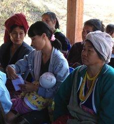 Women attending