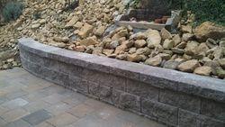 Right Retaining Wall