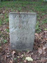 Jackson Keely, died 1829